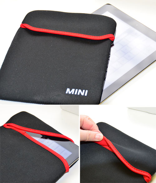 MINI Reversible ipad Sleeve