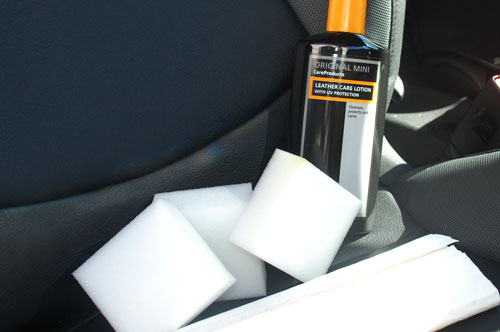 Official MINI Leather Seat Care Kit