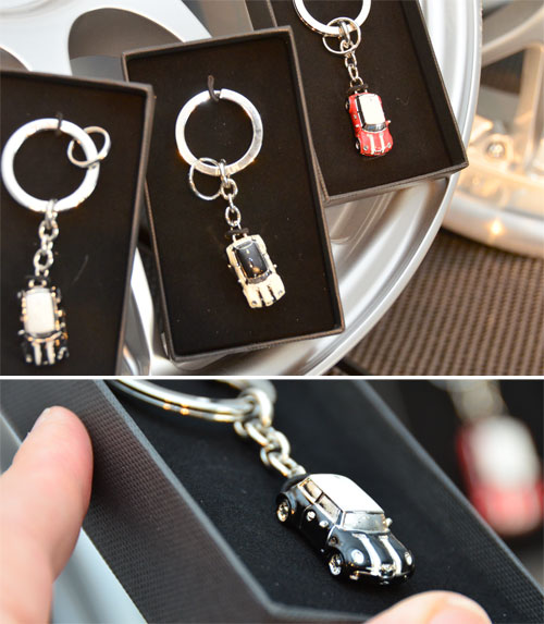 MINI Cooper Micro MINI Key Fob Key Ring