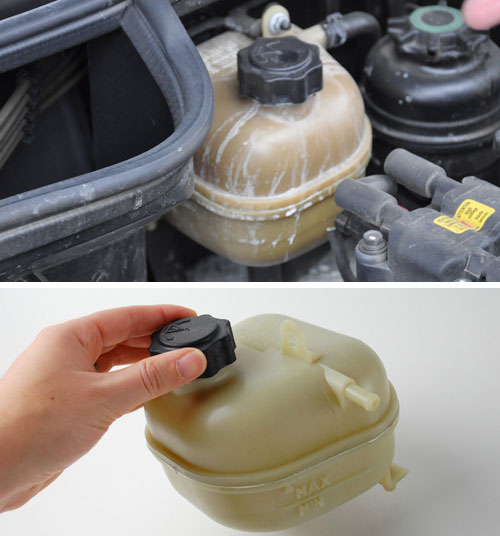 "Radiator Overflow Tank: R52/3 ""S"""
