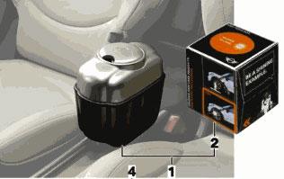 Four Door Convertible >> MINI Countryman Cooper R60 Tissue Holder Box for Center Rail - MINI Cooper Accessories + MINI ...