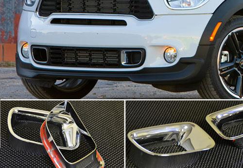 Mini Cooper S Countryman Chrome Brake Duct Vent Covers