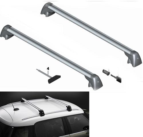 Mini Cooper Roof Rack >> MINI Countryman R60 Roof Rack Rails - MINI Cooper Accessories + MINI Cooper Parts
