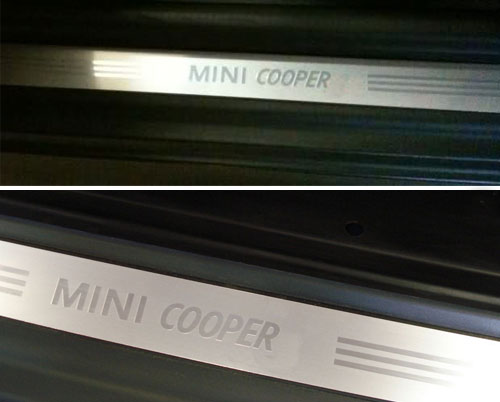 Mini Cooper Replacement Quot Cooper Quot Door Sill 51717052127