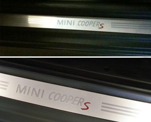 Mini Cooper Replacement Cooper S Door Sills R523 Mini Cooper
