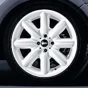 LA Wheel: S-Spoke: White