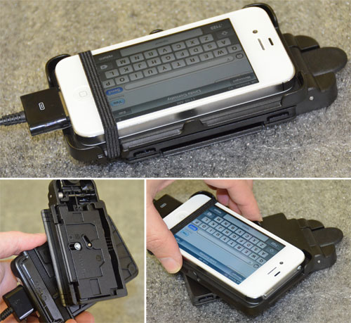 Rail Attachment: Smartphone Cradle