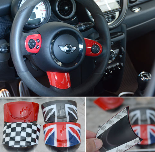 MINI Cooper Accent Steering Wheel Trim Kit 2007-2016