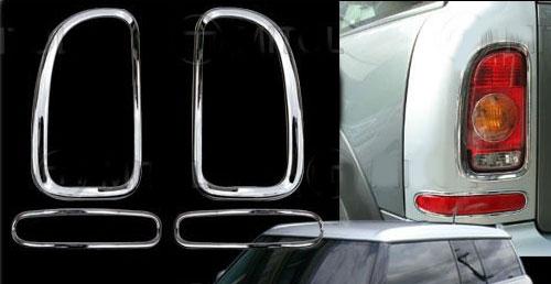 Chrome Brake and Rear Light Trim: Clubman