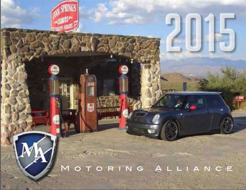 Motoring Alliance 2015 Calendar