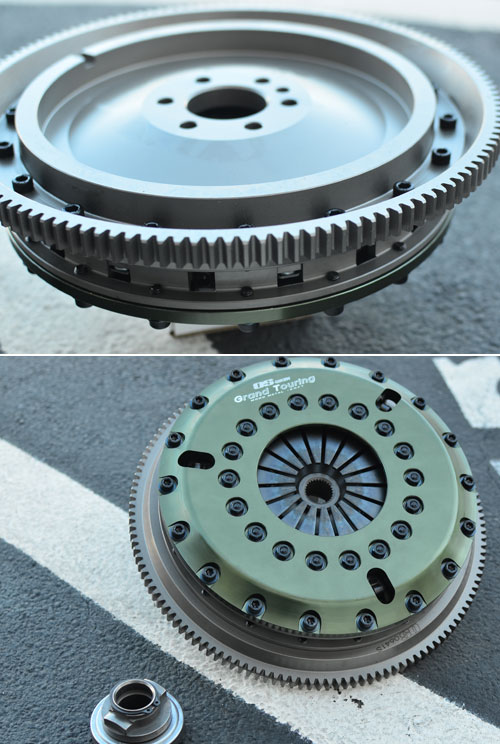 OS Giken Clutch and Flywheel kits for the MINI