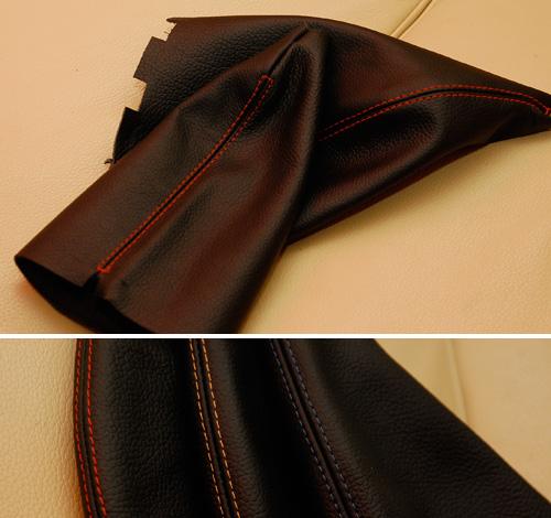 Custom Leather Shift + Ebrake Boots