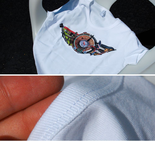 Out Motoring Wings Shirt: WOMENS