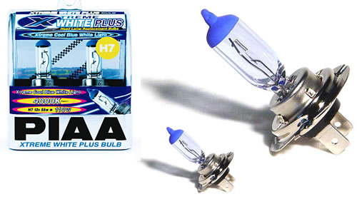 PIAA Extreme White Plus H7 Light Bulbs for MINI Cooper