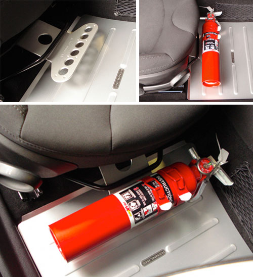 Fire Extinguisher Seat Mount For Your Mini Safety Mini