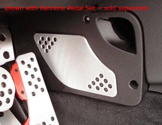 Rennline Aluminum Pedal Foot Guard
