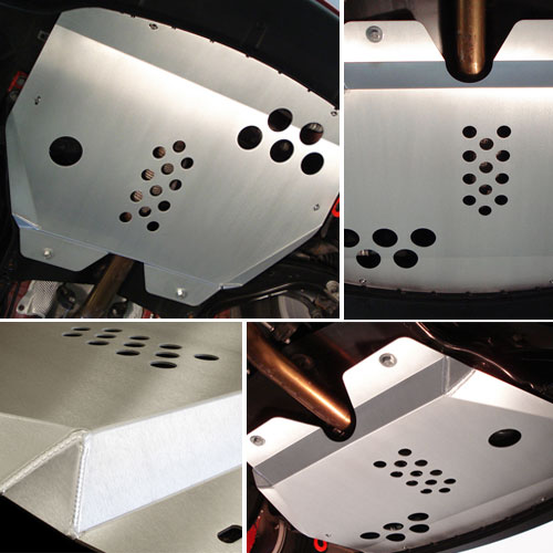 Alloy Sump Guard Skid Plate Undershield for MINI Cooper