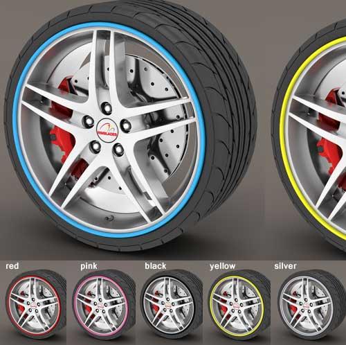 RimBlades Wheel Accent + Protector