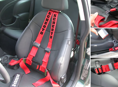 Car Accidents With  Point Harnesses