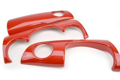 Dash Cover Set: Gen1: Red (3pcs)