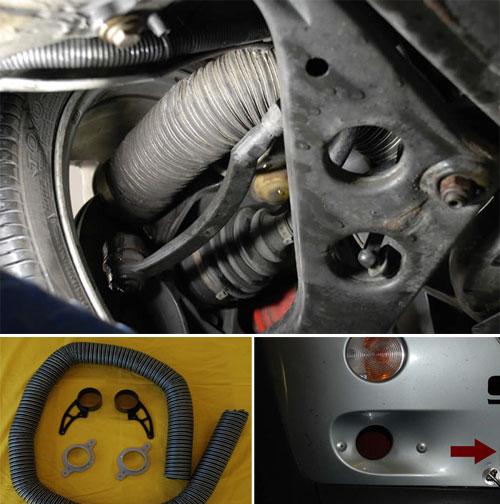 Mini Coooper Brake Cooling Duct Kit Mini Cooper