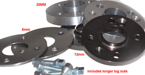 Wheel Spacer Kit with Lugs for MINI Cooper