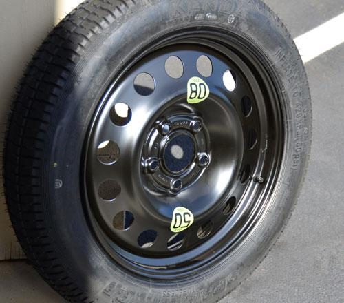 Micro Space Saver Spare Tire + Wheel: Countryman/Paceman