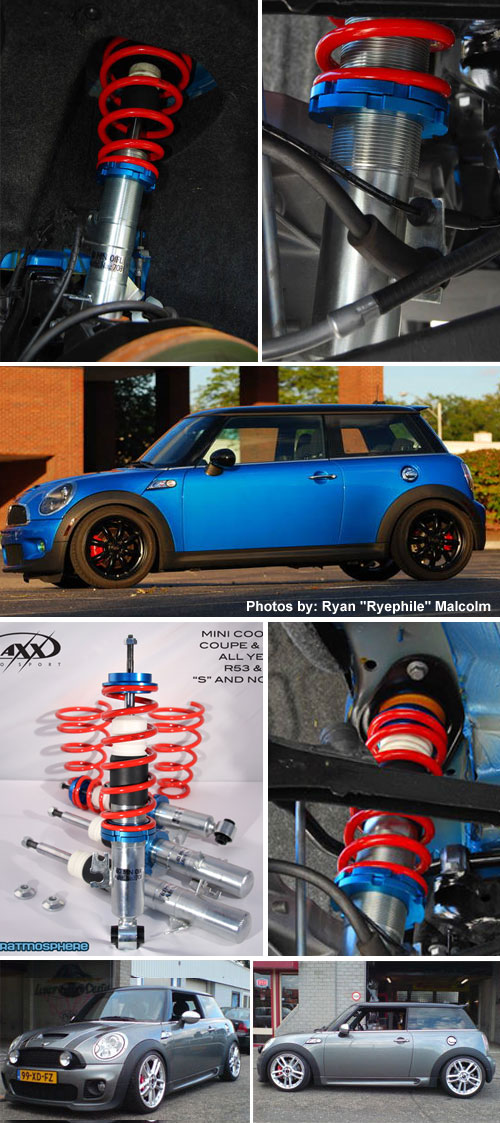 Vmaxx Mini Cooper Coilover Suspension Tuv Tested Mini