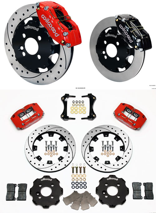 Wilwood DynaPro 4 Front Big Brake Kit