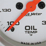 Autometer Oil Temperature Gauge: Mechanical
