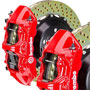 Brembo GT 380mm Brake Kit: Red: Cross Drilled