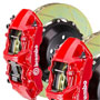 Brembo GT 380mm Brake Kit: Red: Slotted