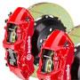 Brembo GT 380mm Brake Kit: Red: Slotted