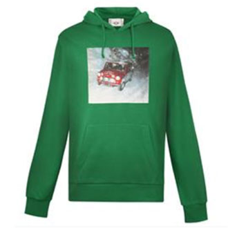 MINI Sweatshirt Men's Limited Edition Holiday with Hood