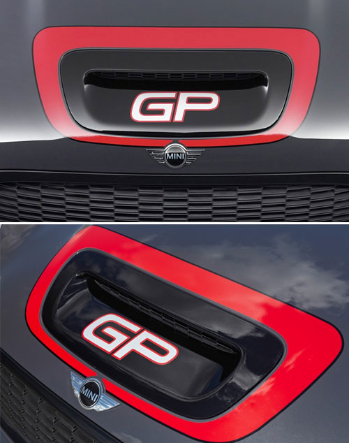GP Hood Scoop Sticker: gen2