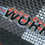 JCW Checkered Flag Floor Mats: Front
