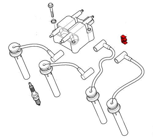 Spark Plug Wire Clip