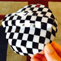 Gas Lid Cover: Checkered Flag: R53