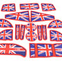 Storage Liner 17 Piece Set: F54: Union Jack