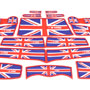 Storage Liner 18 Piece Set: F60: Union Jack