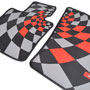 Floor Mats: Rubber JCW PRO set of 4: F56