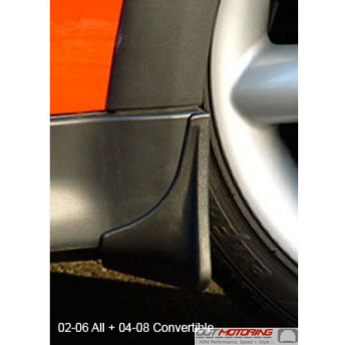 Mud Flaps: Front: R50-R53