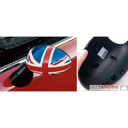 Side Mirror Cap: Gen1: Union Jack: Left