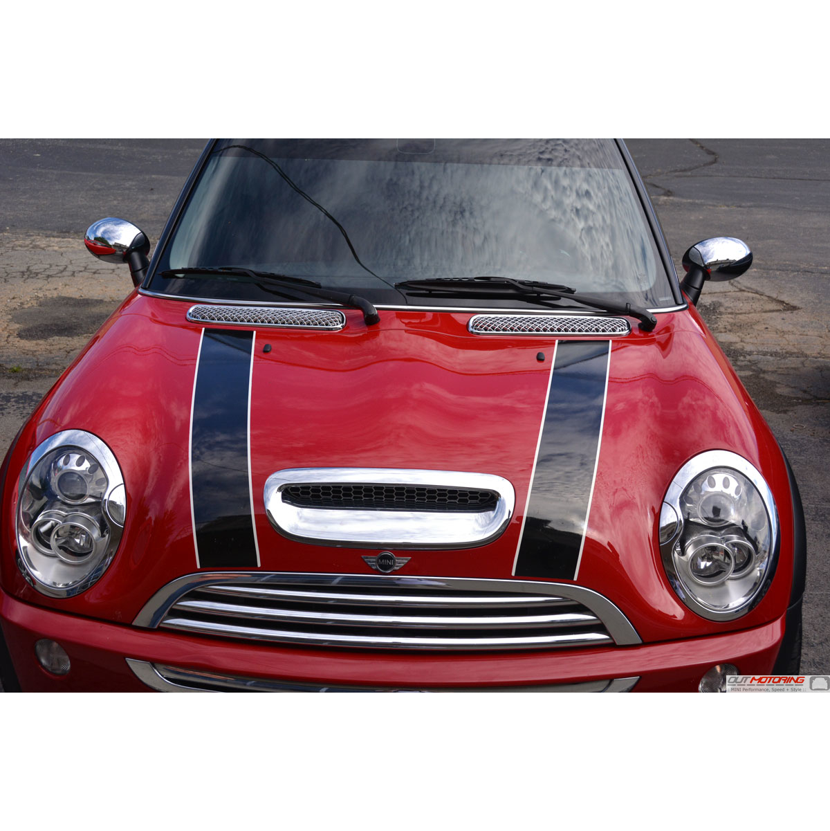 Mini cooper chrome vent covers mini cooper accessories mini cooper parts Mini cooper exterior accessories