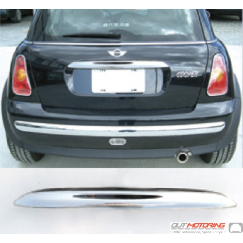 Boot Handle Cover: Chrome: R50/2/3