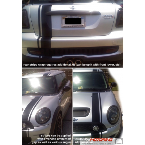 MINI Cooper Racing Stripe Hood