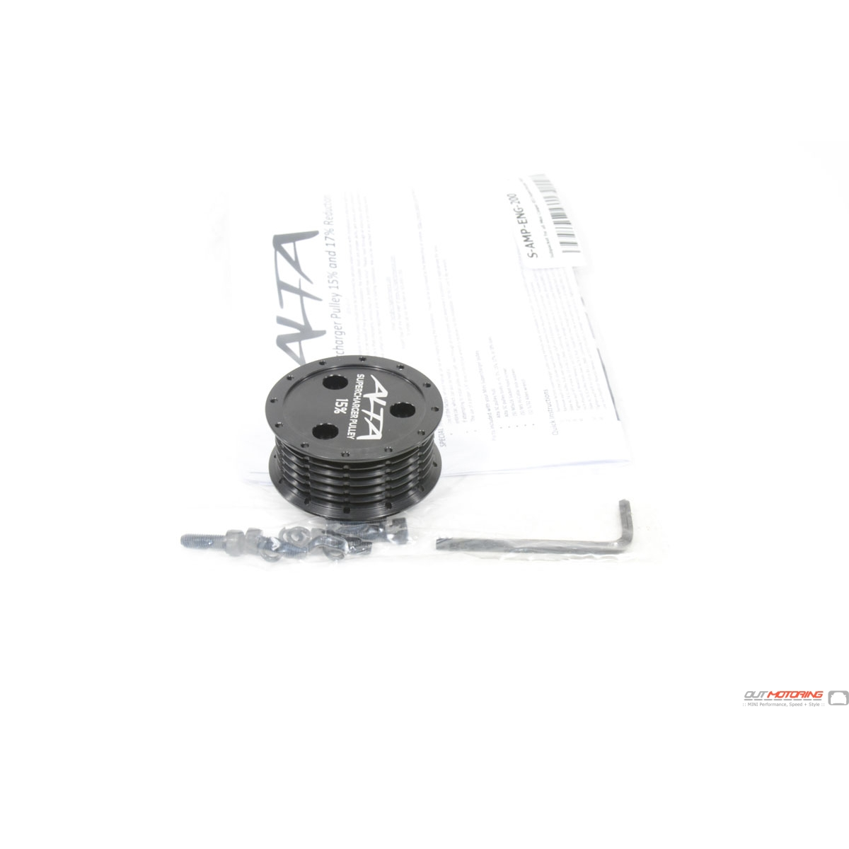 mini cooper alta supercharger pulley removal tool