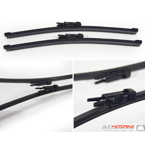 Rear Wipers: R55 Clubman