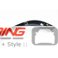 Grill Trim Set: JCW: Cooper S: Black