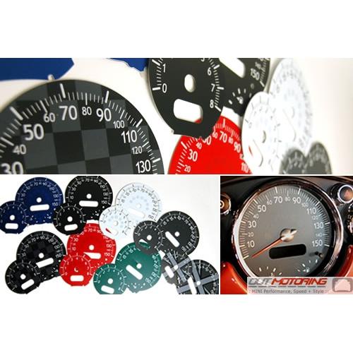 outmotoring custom gauge faces mini cooper accessories mini